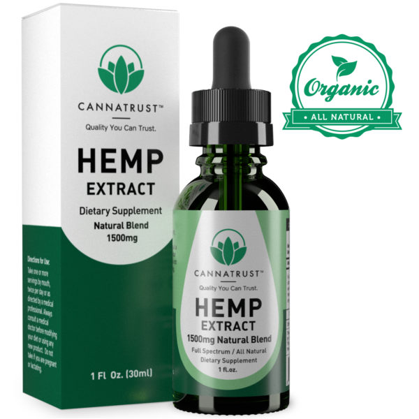 Maximum Strength All Natural Hemp Extract